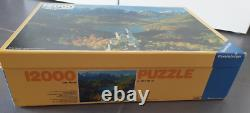 12000 piece puzzle, The Royal Castles Neuschwanstein, 1985, Extremely Rare & New