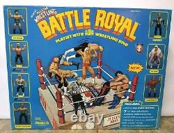 1985 AWA Remco All Star Wrestling Battle Royal Playset Factory Sealed VERY RARE