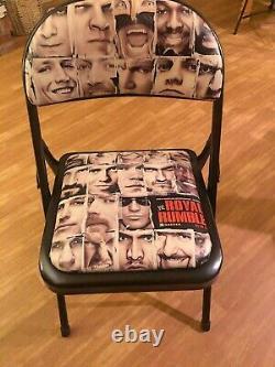 2011 WWE PPV XXVII 40-man Royal Rumble Rare Ringside Chair