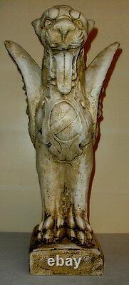 24 Royal Griffin Gargoyle Gryphon Mythical Lion Antique Finish Rare