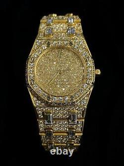 AUDEMARS PIGUET 18KYG 664 Factory Diamonds Royal Oak RARE $1MILLION Apr with CoA