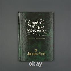 AUDEMARS PIGUET EMPTY Warranty Booklet Garantieheft Royal Oak Rare NOS NEW