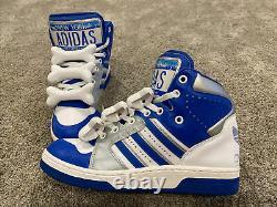 Adidas Jeremy Scott, New York License Plate, Bones, G17179, Size 9.5, RARE