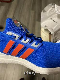 Adidas Ultra Boost 4.0 DNA Men's size 13 Football Blue $180 Rare Sold out