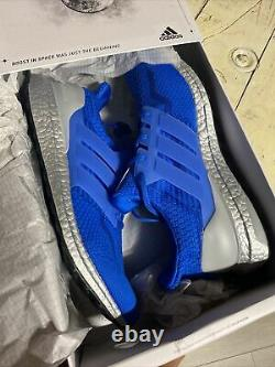 Adidas Ultra Boost 5.0 DNA Men's size 12 Blue Silver $180 Sold out Rare