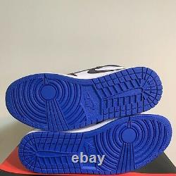 Air Jordan 1 High Retro OG Royal Toe Fragment 1s Mens Size 8 555088-041 DS RARE