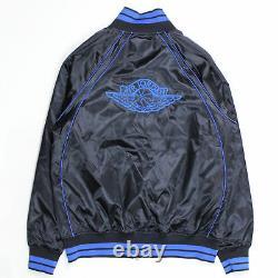 Air Jordan 1 Wings Royal Satin Jacket Vintage Rare OG AA0350-010 Multiple Size