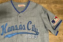 Authentic Mitchell and Ness 1969 Kansas City Royals Lou Piniella Jersey 48 RARE