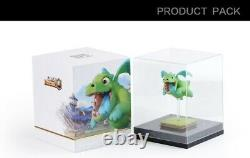 Authentic Supercell Clash Royale Blue Baby Dragon PVC Figure Rare UK Seller