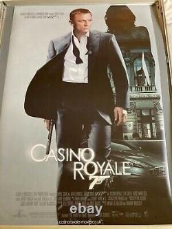 CASINO ROYALE RARE ORIGINAL D/S 1 SHEET Cinema JAMES BOND