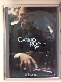 CASINO ROYALE RARE WITHDRAWN ORIGINAL Cinema Poster JAMES BOND No Time To Die