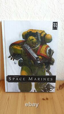 Codex Space Marines Limited Edition Imperial Fists (OOP, rare)