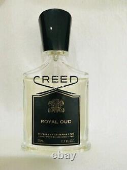 Creed Royal Oud Eau De Parfum 1.7 Oz 50ml Spray Unisex EDP RARE OLD Formula
