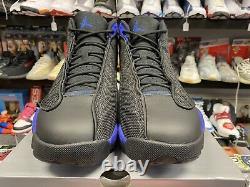 DS New Nike Air Jordan Retro 13 Black Royal Size 13 Authentic Rare Vintage VTG