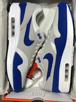 DS! Nike Air Max 1 Anniversary Sz 12 Game Royals! 908375 102 Rare Pair