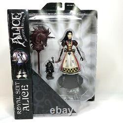 Diamond Select Alice Madness Returns ROYAL SUIT Alice Action Figure Rare NEW NIB