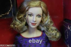 Franklin Mint Guinevere Vinyl Portrait Doll 16 Rare MIB With Royal Crown COA