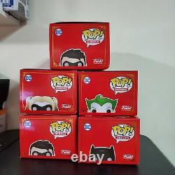 Funko POP! DC Heroes Imperial Palace Metallic Set with Chase (Very rare)