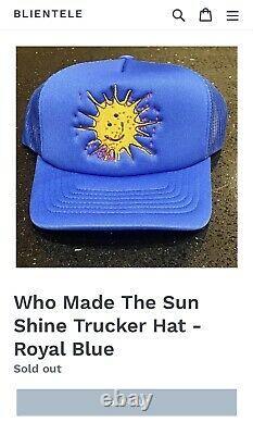 Griselda GXFR Westside Gunn Royal Blue Trucker Hat RARE