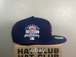 Hat Club Exclusive Chicago Cubs ASG Royal Red UV RARE Size 7 5/8