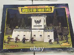 Imperial Guard Command Tower 40K NIB Sealed Terrain OOP RARE Astra Militarum