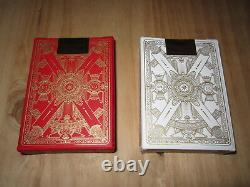 Imperial Red and White Playing Cards by Jackson Robinson KWP Limited, Rare
