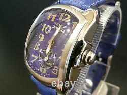 Invicta Model No. 2005 Watch 28mm Royal Blue Baby Lupah Rare & Brand New