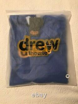 Justin Bieber Drew House Secret L/S T-Shirt Royal Blue Medium EXCLUSIVE / RARE