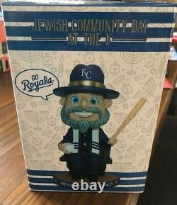 Kansas City Royals Mensch on a Bench bobblehead SGA 7/28/21 NIB RARE