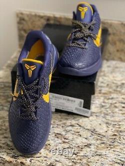 Kobe 6 VI Protro Size 11 Shoes Imperial Purple New NIB Deadstock RARE Grinch