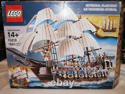 LEGO Pirates IMPERIAL FLAGSHIP #10210 RARE! Retired (2010)