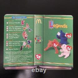 McDonalds Legend Peanut The Royal Blue Elephant TY Beanie Baby 1995 Retired-Rare