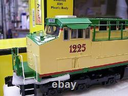 NEW MTH ES44AC Imperial DCS Christmas Diesel & Matching Caboose Holiday Set Rare