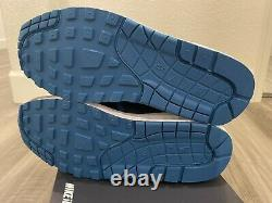 NEW Nike ID Air Max 1 Size 9 Leather Royal blue Rare Jordan I Inspired sample