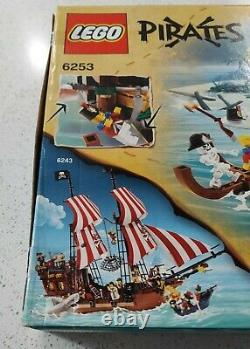 NEW Rare LEGO Pirate Shipwreck Hideout Exclusive Set 6253 ship imperial minifigs