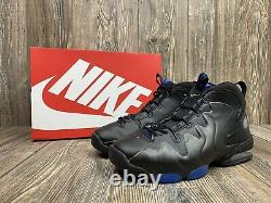 NIKE AIR PENNY 3 2020 (RARE) BLACK/ROYAL Size 9.5 ORLANDO 100% Authentic Ds