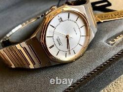 NOS! ULTRA RARE Seiko ROYAL OAK Lassale QUARTZ Watch 5932-7069 FULL KIT