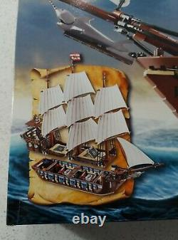 New LEGO IMPERIAL FLAGSHIP 10210 RARE! From 2010 Pirate Ship redcoat galleon