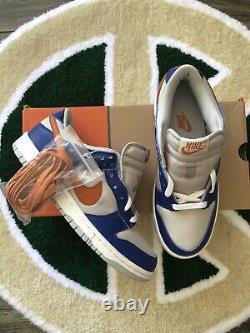 New Nike Dunk 2003 Low Pro Ny Knicks Rare Vintage Sports Royal Mesa Orange 8