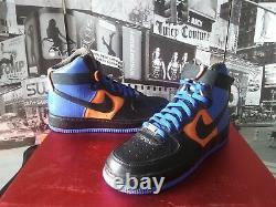 Nike Air Force 1 Supreme LE (DJ Clark Kent NYC Edition) Men's US 8 Rare Royal