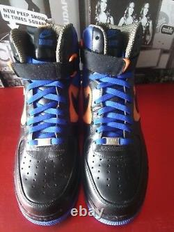 Nike Air Force 1 Supreme LE (DJ Clark Kent NYC Edition) Men's US 9.5 Rare Royal
