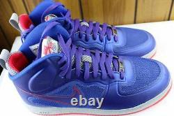 Nike Air Force Lunar 1 Game Royal Size 9.5 New Rare Authentic Sire Red