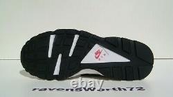 Nike Air Huarache 10.5 11.5 Rare OG 2013 318429 146 White Royal Pink QK LE DS