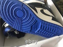 Nike Air Jordan 1 Game Royal Uk 8 4 5 Travis Rare Deadstock Backboard 85 OG