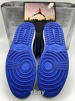 Nike Air Jordan 1 (I) Retro Royal 2001 Black/Blue Sz 11 RARE Vintage 136066-041