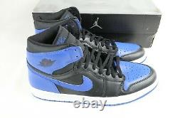 Nike Air Jordan 1 (I) Retro Royal 2001 Black/Blue Sz 13 RARE Vintage 136066-041