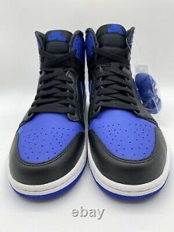 Nike Air Jordan 1 Retro Royal 2013 Black/Blue Size 11 RARE Vintage 555088-085