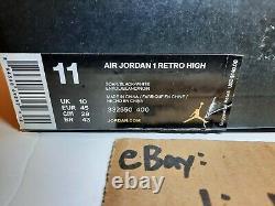 Nike Air Jordan Retro 1 OG High Rare Air Soar Royal Blue 332550-400 US 11 DS