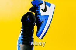 Nike Air Jordan Retro 1 OG SZ 16 High Rare Air Soar Royal Blue 332550-400