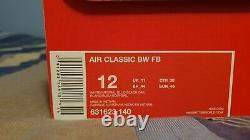 Nike Air Max Classic BW white/imperial blue/black Uk 11 / 2013 NEW RARE